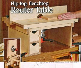 2020-Bench top Router Table Plans