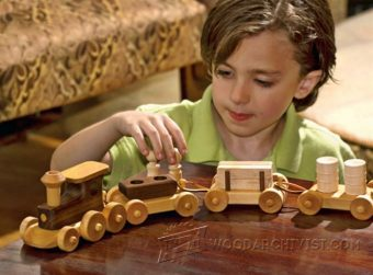 2021-Wooden Toy Train Plans