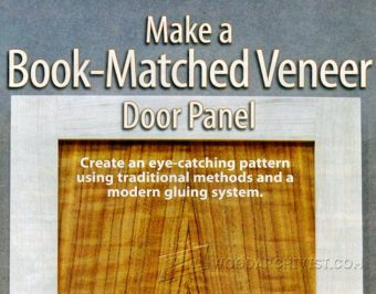 2023-Make Book Matched Veneer Door Panel