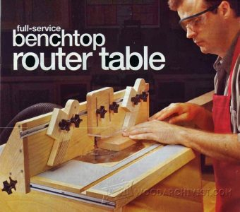 2024-Benchtop Router Table Plans