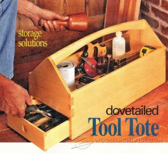 #1842 Dremel Storage Case Plans • WoodArchivist