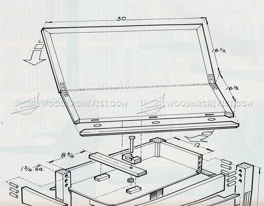 Gaming Table Plans Woodarchivist