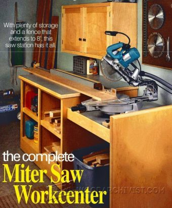 2040-Miter Saw Workstation Plans