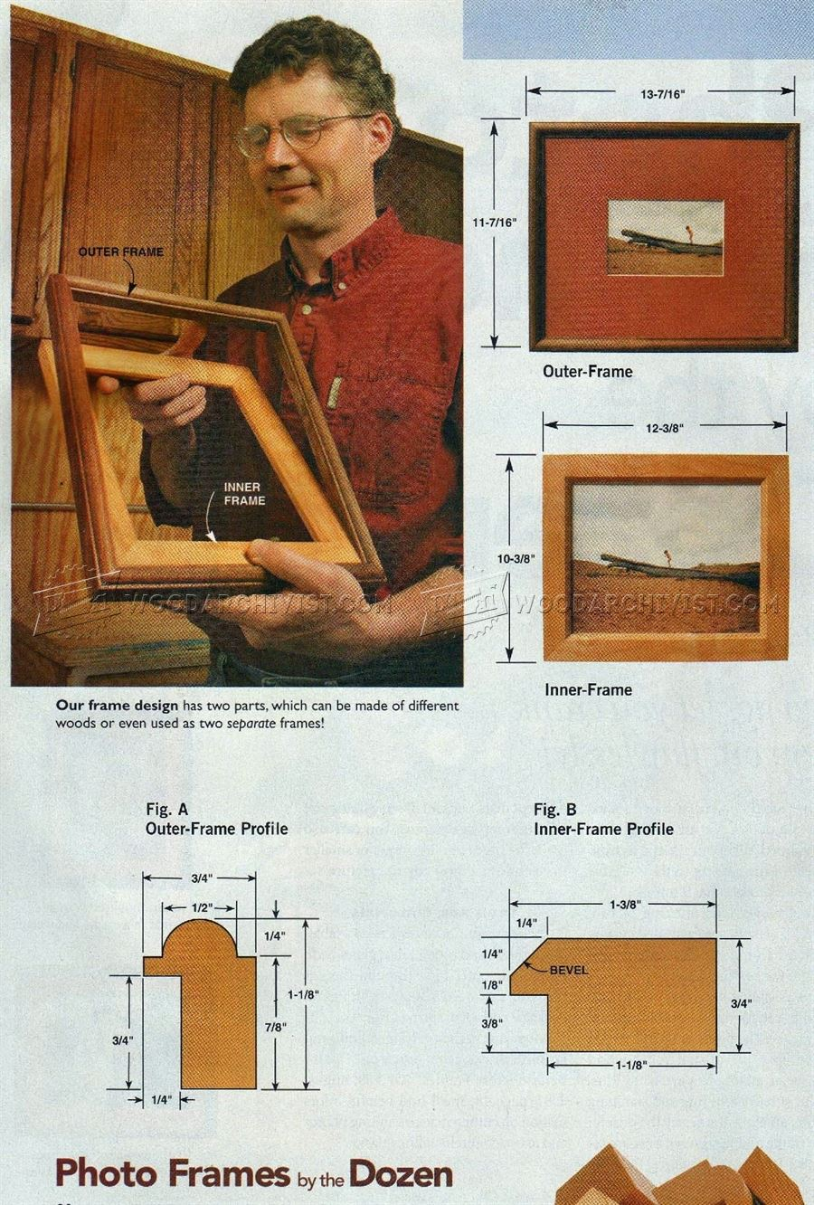 Wooden Photo Frame Making