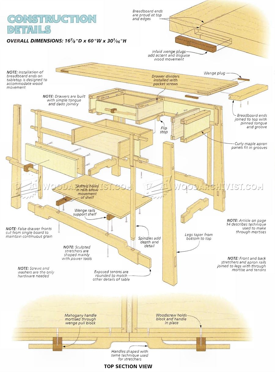 Hall table woodworking plans with lastest pictures in for Simple dining hall design