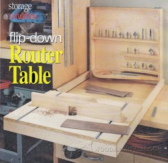 2060-Fold Down Router Table Plans
