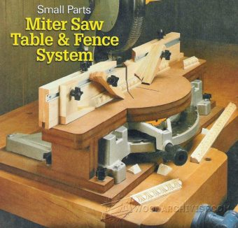 2063-Miter Saw Fence System