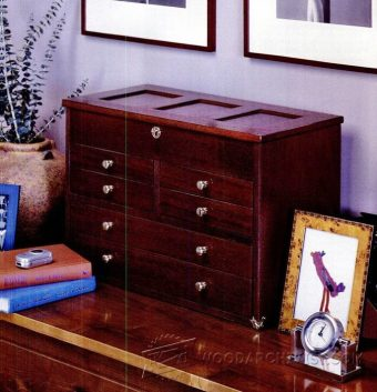 2069-Small Chest of Drawers Plans