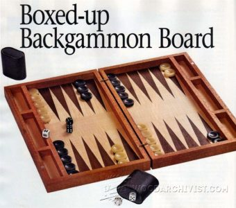 2071-Backgammon Board Plans