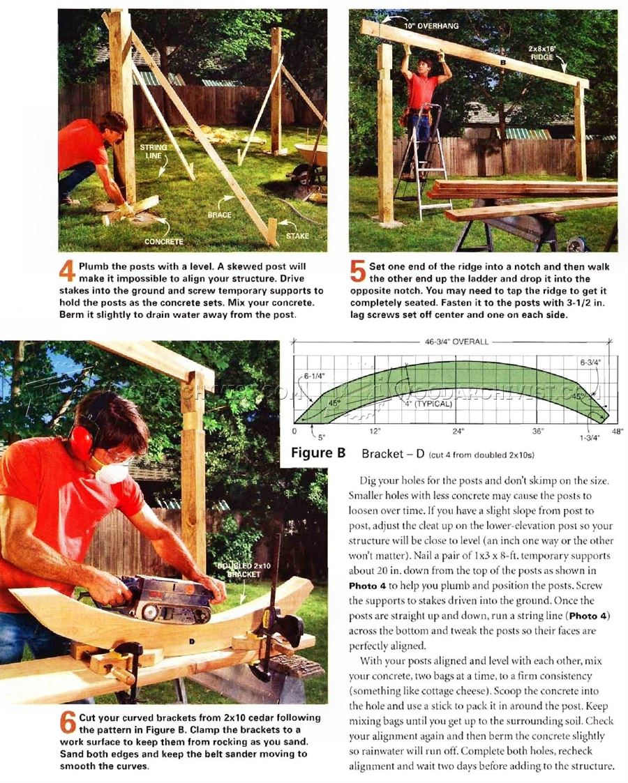 ... Shading Hammock Stand Plans - Outdoor Furniture Plans Outdoor Plans