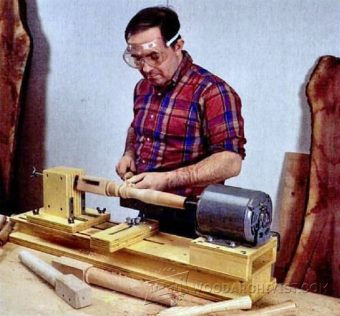 2084-DIY Wood Lathe
