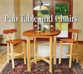 2087-Table and Chairs Plan