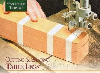 2088-Cutting and Shaping Table Legs