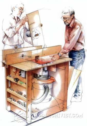 2090-Ultimate Router Table Plans