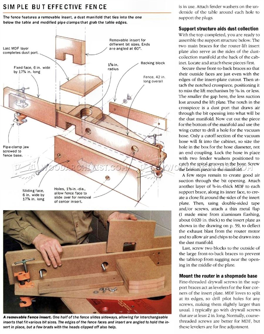 Ultimate router table plans woodarchivist for How to make a router table
