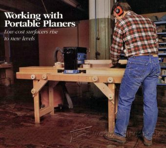 2100-Portable Planer Table Plans