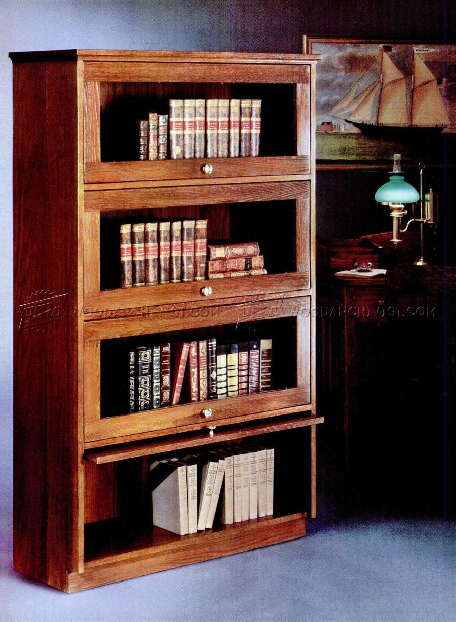 Barristers Bookcase Plans • WoodArchivist