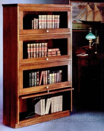 2101-Barristers Bookcase Plans