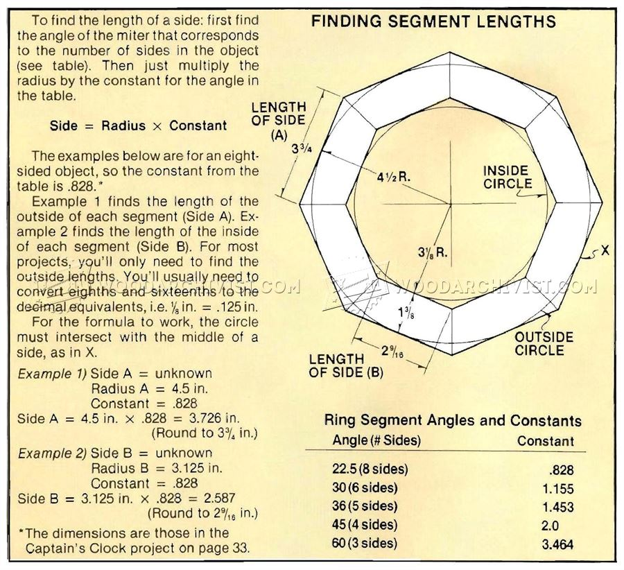 Finding Segment Lengths