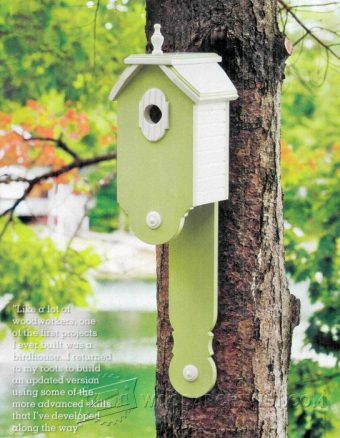2105-Making  Birdhouses