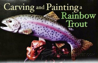 2107-Carving and Painting Rainbow Trout