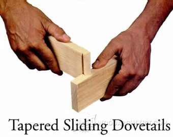 2109-Tapered Sliding Dovetails