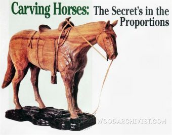 2113-Carving Horse