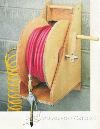 2114-Portable Hose Reel