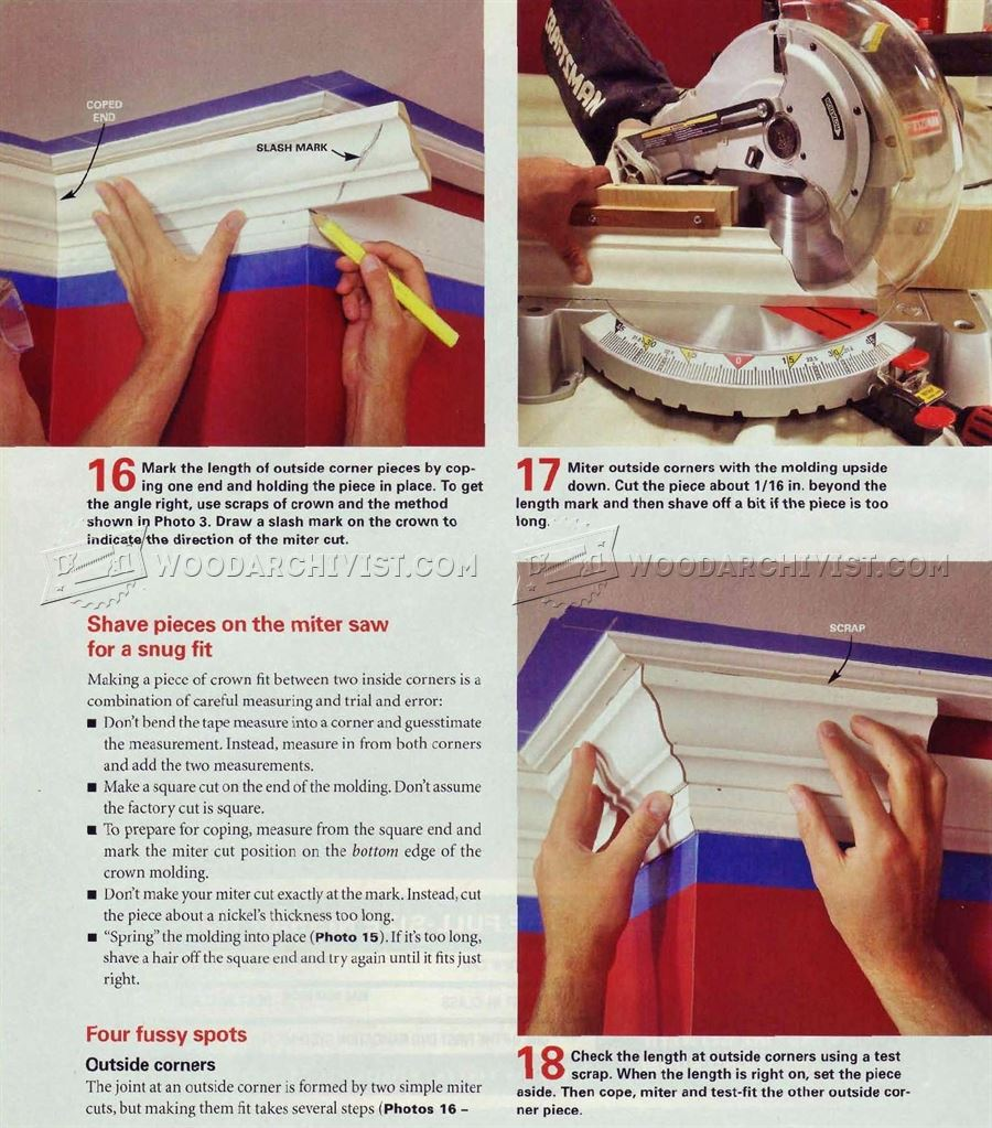 #2119 Installing Crown Molding
