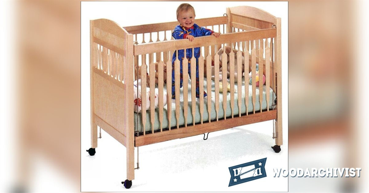 2121 Baby Crib Plans • WoodArchivist
