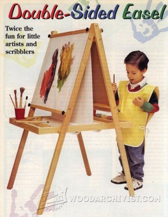 2148-Kids Easel Plans