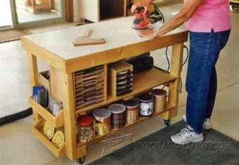 2151-Downdraft Sanding Table Plans