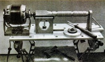 2158-Homemade Wood Lathe