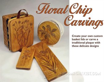 2174-Floral Chip Carving