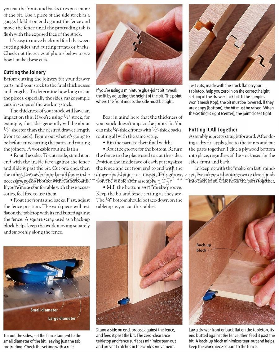 Drawer Lock Joint