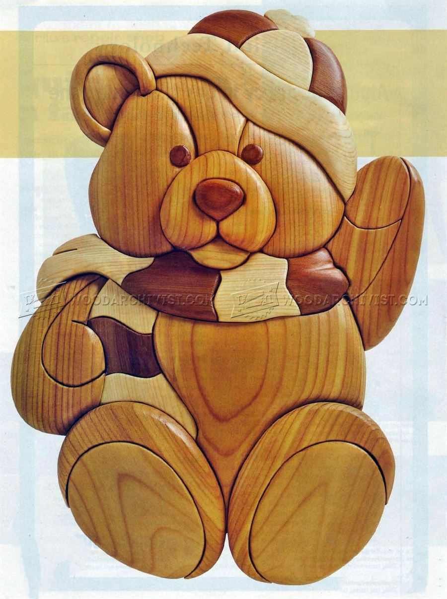 #2191 Teddy - Intarsia Projects