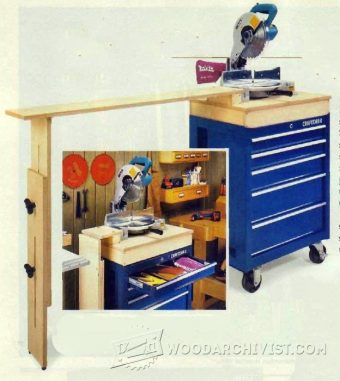 2193-Miter Saw Stand Plans