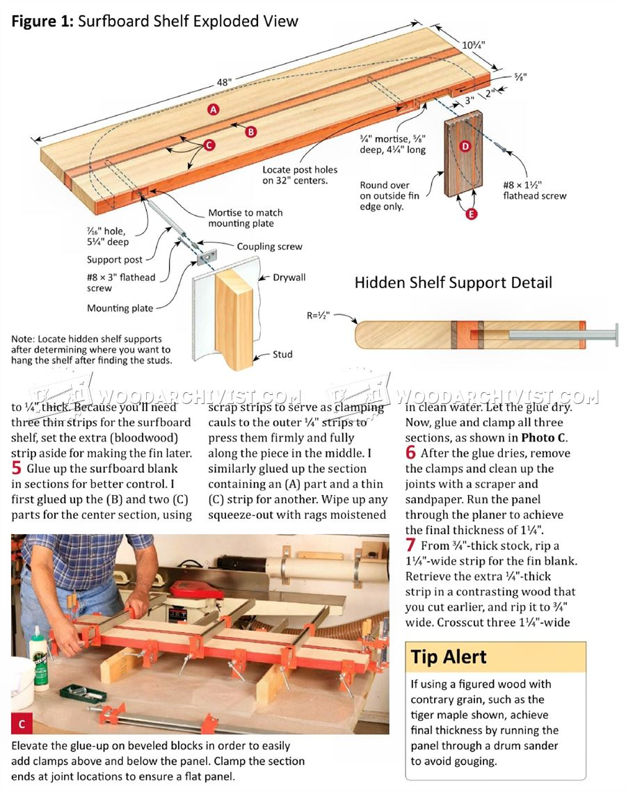 pole shelf wall shelf plans furniture plans