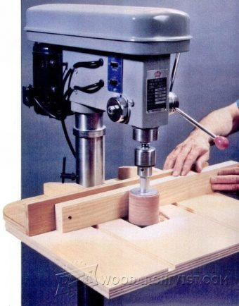 2210-Drill Press Drum Sander Table Plan