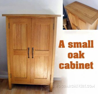 2214-Small Cabinet Plans