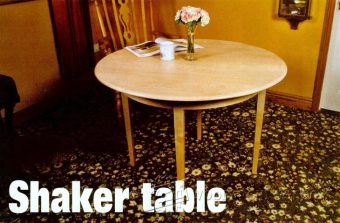 2221-Shaker Table Plans