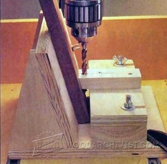 2235-Drill Press Pocket Hole Jig
