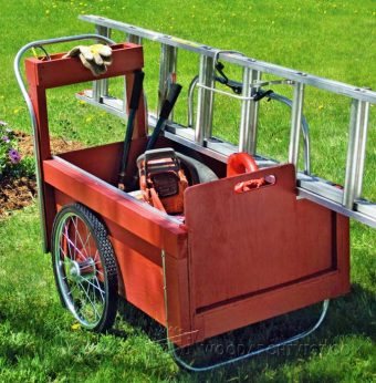 2237-DIY Outdoor Work  Cart