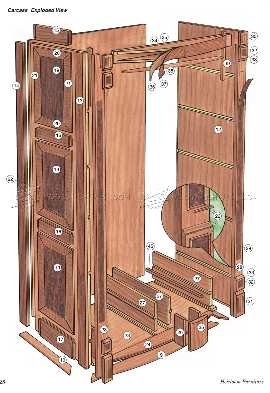 Bookcase Plans • WoodArchivist