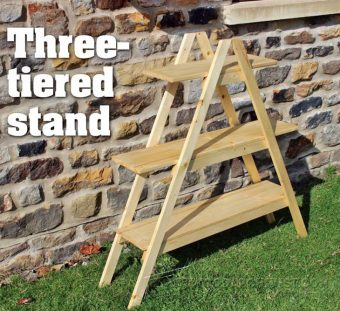 2248-Outdoor Plant Stand Plans