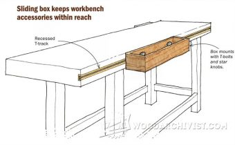 2252-Workbench Sliding Box