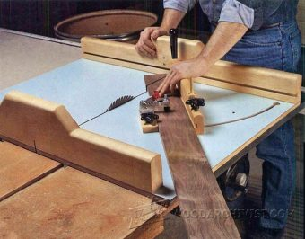 2253-Table Saw Crosscut Jig
