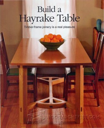 2254-Hayrake Table Plans