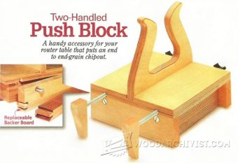 2255-Router Table Push Block