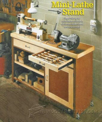 2260-Mini Lathe Stand Plans